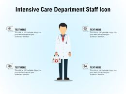 Intensive Care Department Staff Icon