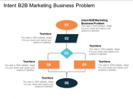 Intent B2b Marketing Business Problem Ppt Powerpoint Presentation Icon Graphic Tips Cpb