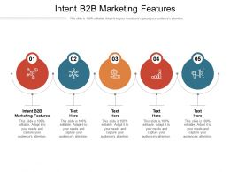 Intent B2B Marketing Features Ppt Powerpoint Presentation Infographics Outline Cpb
