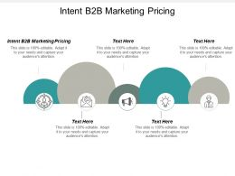 Intent B2b Marketing Pricing Ppt Powerpoint Presentation Inspiration Example File Cpb