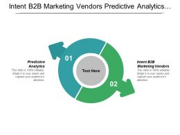 Intent B2b Marketing Vendors Predictive Analytics Predictive Marketing Cpb