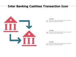 Inter Banking Cashless Transaction Icon