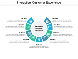 Interaction Customer Experience Ppt Powerpoint Presentation Icon Graphic Cpb