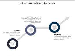 Interactive Affiliate Network Ppt Powerpoint Presentation Icon Portfolio Cpb
