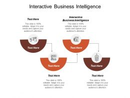 Interactive Business Intelligence Ppt Powerpoint Presentation Model Samples Cpb
