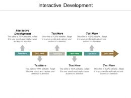 Interactive Development Ppt Powerpoint Presentation Gallery Slides Cpb
