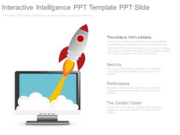Interactive Intelligence Ppt Template Ppt Slide