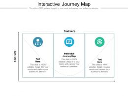 Interactive Journey Map Ppt Powerpoint Presentation Gallery Template
