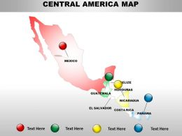 Interactive Map Of Central America 1114