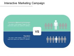 Interactive Marketing Campaign Ppt Powerpoint Presentation Ideas Summary Cpb
