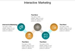Interactive Marketing Ppt Powerpoint Presentation Inspiration Slideshow Cpb