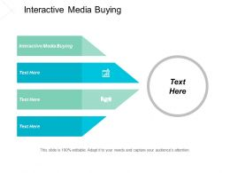 Interactive Media Buying Ppt Powerpoint Presentation File Graphics Tutorials Cpb