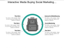 Interactive Media Buying Social Marketing Competitive Business Strategy Cpb