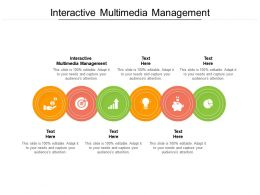 Interactive Multimedia Management Ppt Powerpoint Presentation Layouts Guide Cpb