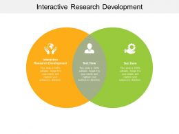 Interactive Research Development Ppt Powerpoint Presentation Infographic Cpb