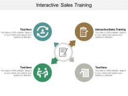Interactive Sales Training Ppt Powerpoint Presentation File Mockup Cpb