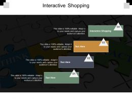 Interactive Shopping Ppt Powerpoint Presentation Portfolio Gallery Cpb