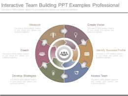 Interactive Team Building Ppt Examples Professional