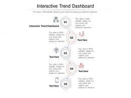 Interactive Trend Dashboard Ppt Powerpoint Presentation Icon Background Designs Cpb