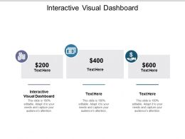 Interactive Visual Dashboard Ppt Powerpoint Presentation File Images Cpb