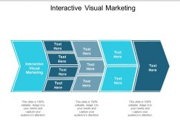 Interactive Visual Marketing Ppt Powerpoint Presentation Styles Layout Ideas Cpb