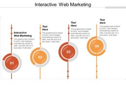 Interactive Web Marketing Ppt Powerpoint Presentation Ideas Background Designs Cpb