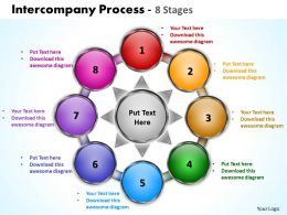 intercompany process 8 stages powerpoint templates graphics slides 0712