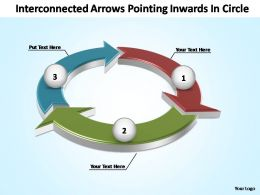 interconnected_arrows_pointing_inwards_in_circle_powerpoint_templates_Slide01