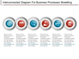 Interconnected Diagram For Business Processes Modelling Powerpoint Ideas