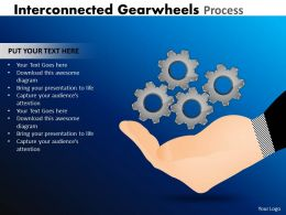 Interconnected Gearwheels Process 11