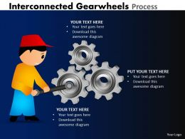 Interconnected Gearwheels Process 12