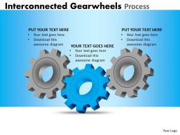 Interconnected Gearwheels Process 1