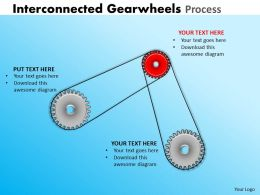 Interconnected Gearwheels Process 20