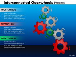 Interconnected Gearwheels Process 24