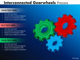 Interconnected Gearwheels Process 26
