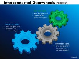 Interconnected Gearwheels Process 7