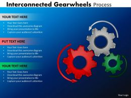 Interconnected Gearwheels Process 9