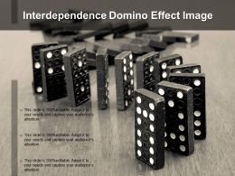 Interdependence Domino Effect Image
