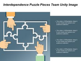 Interdependence Puzzle Pieces Team Unity Image