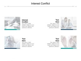 Interest Conflict Ppt Powerpoint Presentation File Maker Cpb
