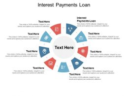 Interest Payments Loan Ppt Powerpoint Presentation Infographics Infographics Cpb