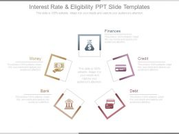 Interest Rate And Eligibility Ppt Slide Templates