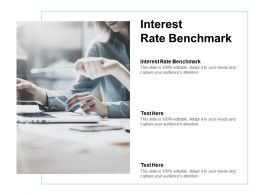 Interest Rate Benchmark Ppt Powerpoint Presentation File Slide Cpb