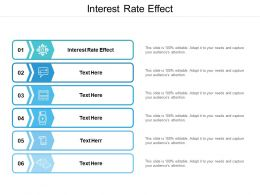Interest Rate Effect Ppt Powerpoint Presentation Summary Aids Cpb