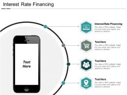 Interest Rate Financing Ppt Powerpoint Presentation Gallery Maker Cpb