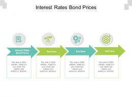 Interest Rates Bond Prices Ppt Powerpoint Presentation Gallery Images Cpb