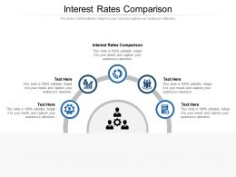Interest Rates Comparison Ppt Powerpoint Presentation Icon Background Cpb