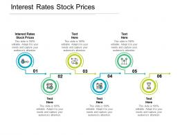 Interest Rates Stock Prices Ppt Powerpoint Presentation Ideas Cpb