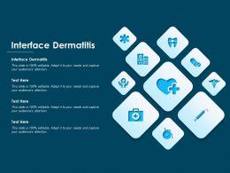 Interface Dermatitis Ppt Powerpoint Presentation Slides Clipart Images
