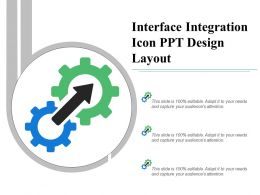 Interface Integration Icon Ppt Design Layout